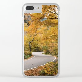 Smuggler's Gap Clear iPhone Case