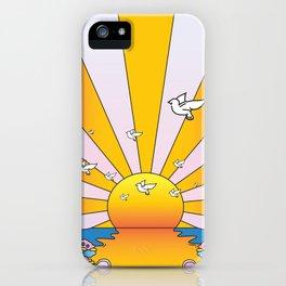 California Sunshine LSD Blotterart iPhone Case