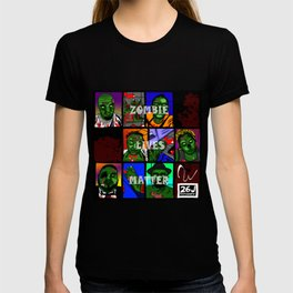 Zombie Lives Matter Collage T-shirt