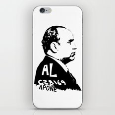 Al Capone iPhone & iPod Skin