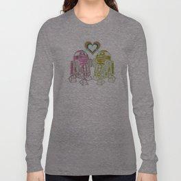 R2D2 DROID LOVE Long Sleeve T-shirt