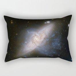 Overlapping galaxies NGC 3314 Rectangular Pillow