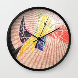 L'envol du Toucan Wall Clock
