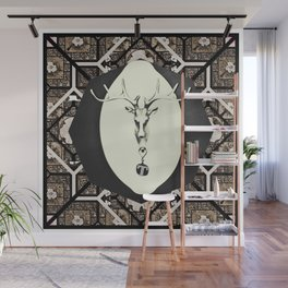 Deer T tile 7 Wall Mural