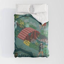 Ukiyo-e tale: The beginning of the trip Comforters