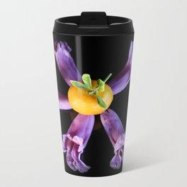Mandarin Purple Metal Travel Mug