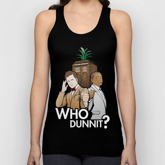 Who Dunnit? Unisex Tank Top