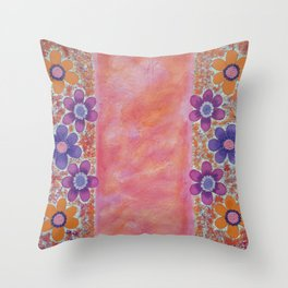 Pink Soul Throw Pillow