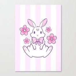 Sakura Bunny 02 Canvas Print