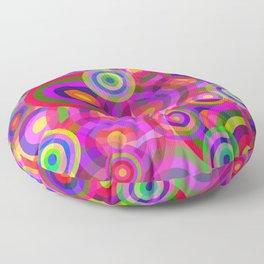 Raindrops Floor Pillow