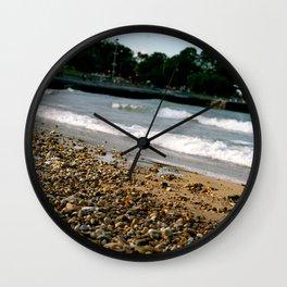 Lake Michigan Beach Wall Clock