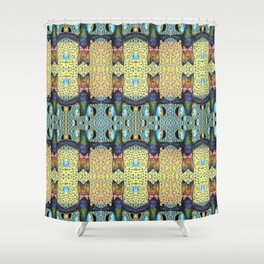 Humming Bubble Shower Curtain