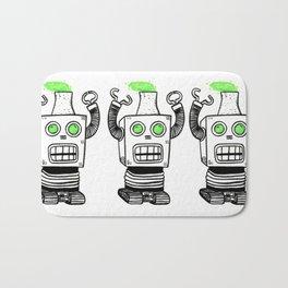 Robo-Meltdown Bath Mat