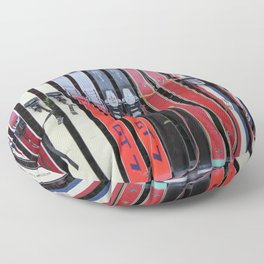 Skis with Bindings Floor Pillow