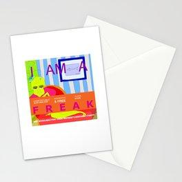 I'm a FREAK Stationery Cards