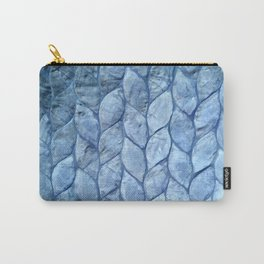 Ocean Blue Shell Carry-All Pouch