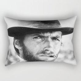 Clint Eastwood Cowboy Rectangular Pillow