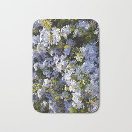 a violet flower in the heart of Athens Bath Mat