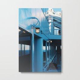 Washington State Ferry Metal Print