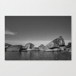 Ancient Rocks Canvas Print