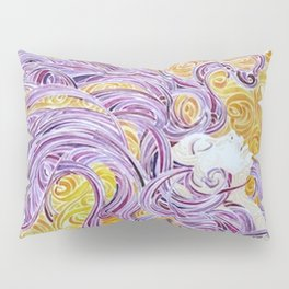 Swirling LADY Pillow Sham