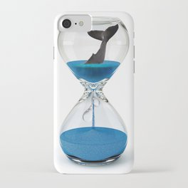Diving in head first iPhone Case
