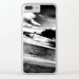 Slanted Horizon Clear iPhone Case