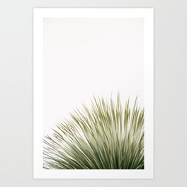 Minimal palm Art Print