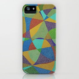 Lines and Curves iPhone Case