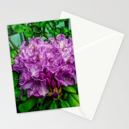 Fine Wine Cafe Light Purple Rhododendron Stationery Cards
