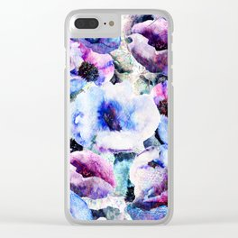 Floral Bloom Clear iPhone Case