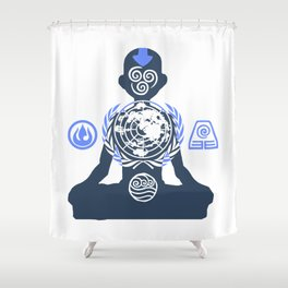 United Nations of the Earth Kingdom Shower Curtain