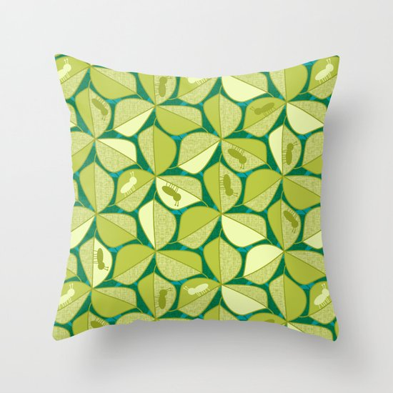 Arboreal Ants Throw Pillow