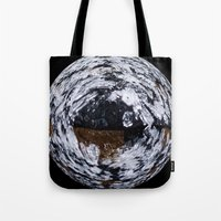 ice Tote Bags featuring Ice by Rose Etiennette