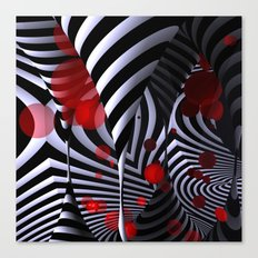 crazy geometry Canvas Print