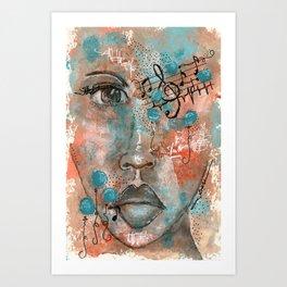 Come Through 4 Art Print