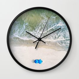 Isle of Palms Wall Clock