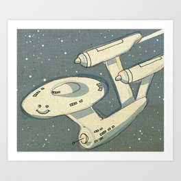 Happy Enterprise Art Print