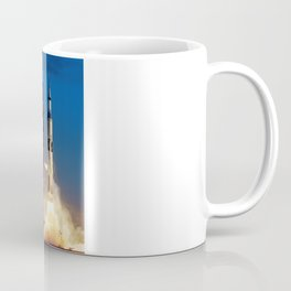 "Apollo Saturn V ""LIFTOFF"" 1967 Coffee Mug"