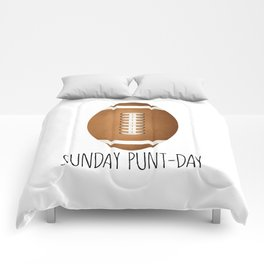 Sunday Punt-day Comforters