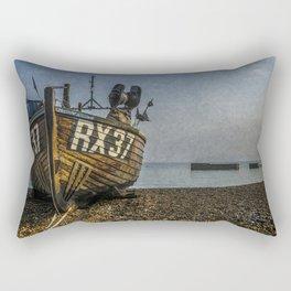 Hastings Fishing Boat Rectangular Pillow