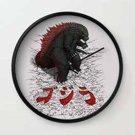 The Great Daikaiju Wall Clock