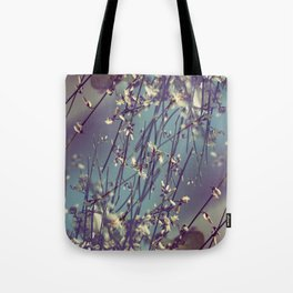Flower Flip Tote Bag