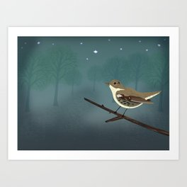 The Nightingale Art Print