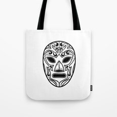 Mexican Wrestling Mask Tote Bag