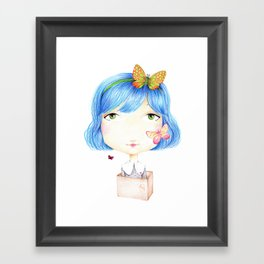 Think out of the box Framed Art Print