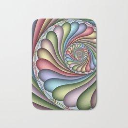 spiral art -20- Bath Mat