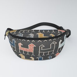 Zagros in Charcoal Fanny Pack