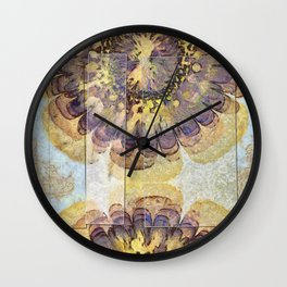 Tofu Unclothed Flower  ID:16165-030907-41931 Wall Clock