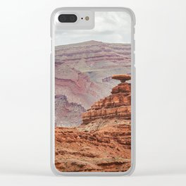 Mexican Hat Rock Clear iPhone Case